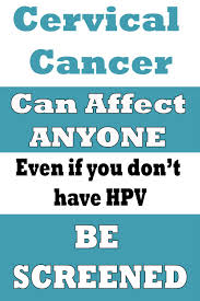 Cervical cancer get screened